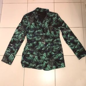 Blazer with Colorful Designs